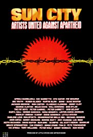 Artists United Against Apartheid: Sun City Poster