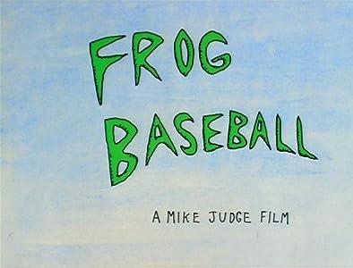 Frog Baseball Mike Judge