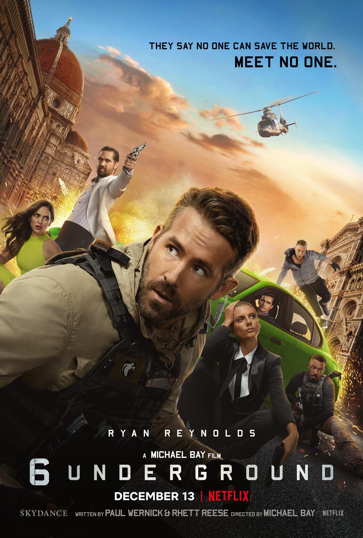 6 Underground (2019) 1080p | 720p | X264 | X265 | Hindi 5.1 + English 5.1 | G- Drive |