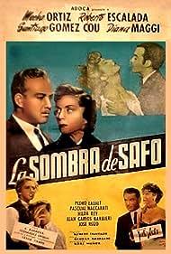 Roberto Escalada and Mecha Ortiz in La sombra de Safo (1957)