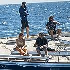 Baltasar Kormákur and Shailene Woodley in Adrift (2018)