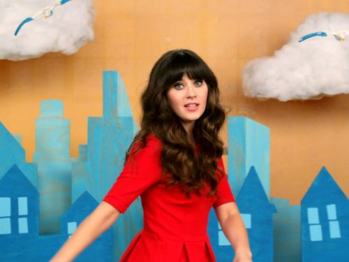 Zooey Deschanel in New Girl 2011