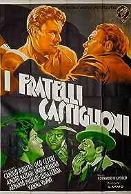 Amedeo Nazzari and Camillo Pilotto in I fratelli Castiglioni (1937)
