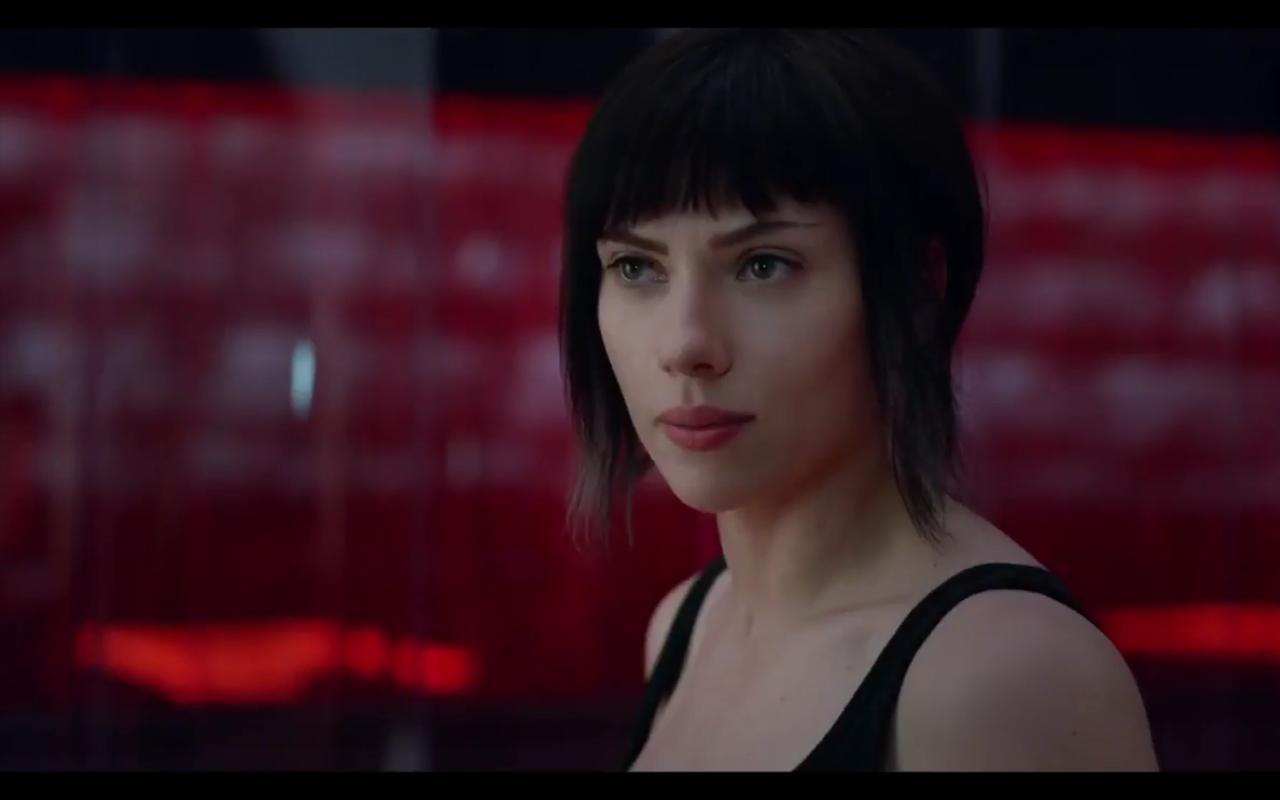 Scarlett Johansson in Ghost in the Shell (2017)