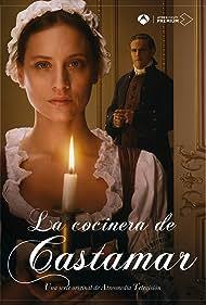 Roberto Enríquez and Michelle Jenner in La cocinera de Castamar (2021)