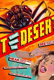 It Came from the Desert Poster