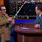 Ty Burrell and Stephen Colbert in Ty Burrell/John Heilemann/James Taylor (2020)