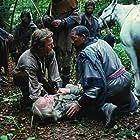 Kevin Costner, Morgan Freeman, and Walter Sparrow in Robin Hood: Prince of Thieves (1991)