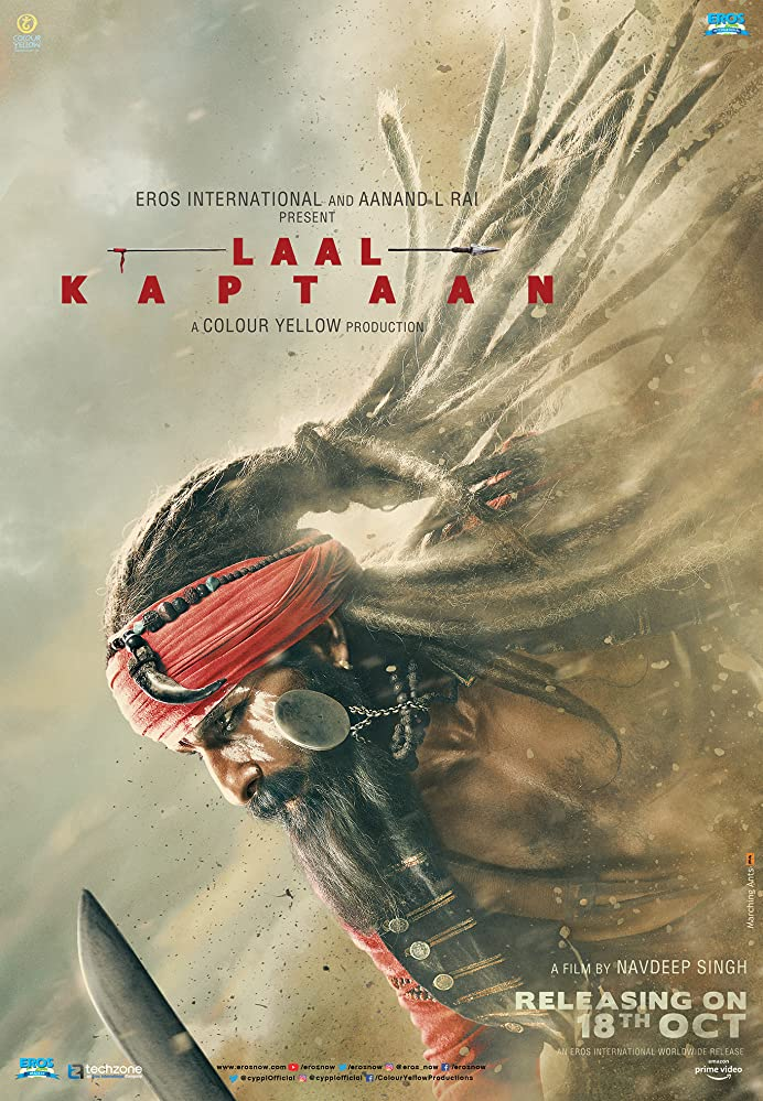 Laal Kaptaan (2019) WEBRip 1080p 10bit HEVC Hindi DD 5.1 AC3 H265 ESubs ~RONIN~ | G- Drive | 3.12 GB |