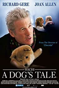Richard Gere and Joan Allen in Hachi: A Dog's Tale (2009)
