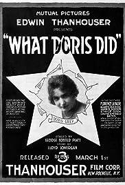 What Doris Did Poster