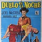 Joel McCrea and Gloria Talbott in The Oklahoman (1957)
