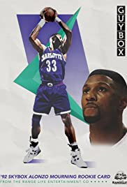 '92 Skybox Alonzo Mourning Rookie Card Poster
