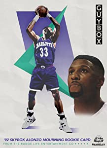 '92 Skybox Alonzo Mourning Rookie Card by