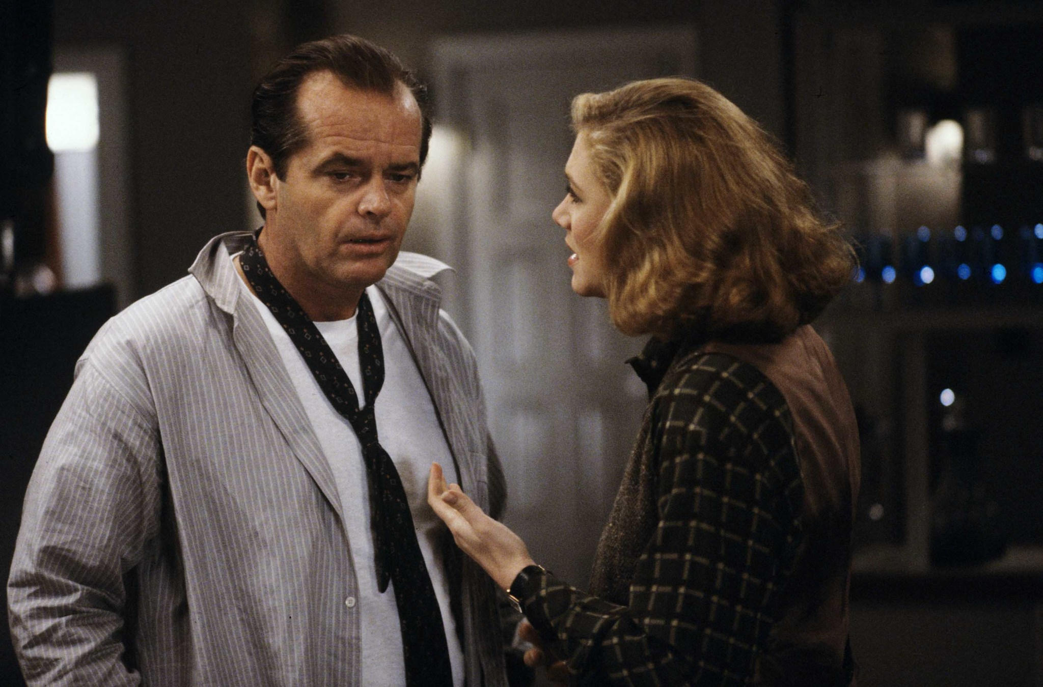 Jack Nicholson and Kathleen Turner in Prizzi's Honor (1985)