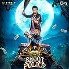 Saif Ali Khan and Arjun Kapoor in Bhoot Police (2021)