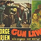 Ward Bond, Herman Hack, George O'Brien, and Rita Oehmen in Gun Law (1938)