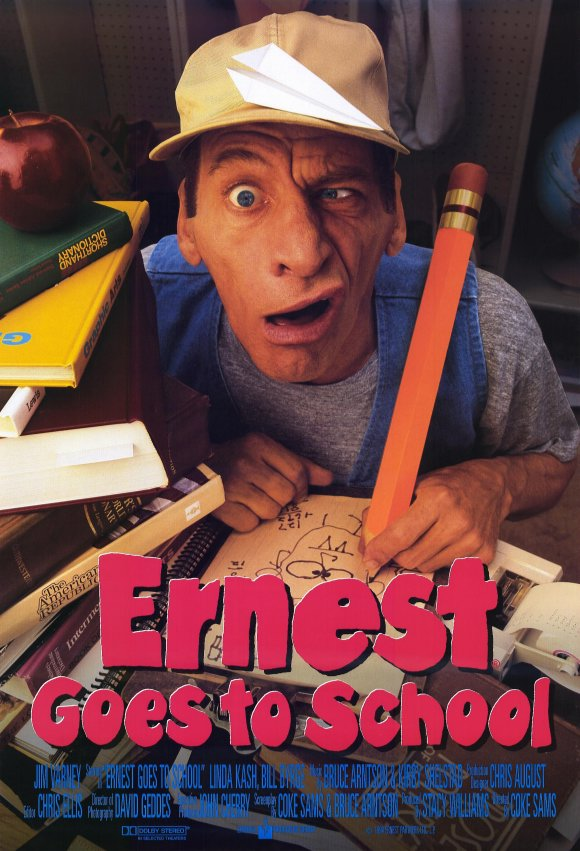 Ernest Goes to School [1994) - IMDb