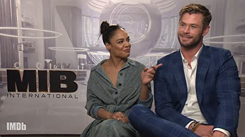 Thor and Valkyrie Reunite in 'Men in Black: International'