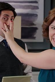 Rachel Bloom and Danny Jolles in Crazy Ex-Girlfriend (2015)