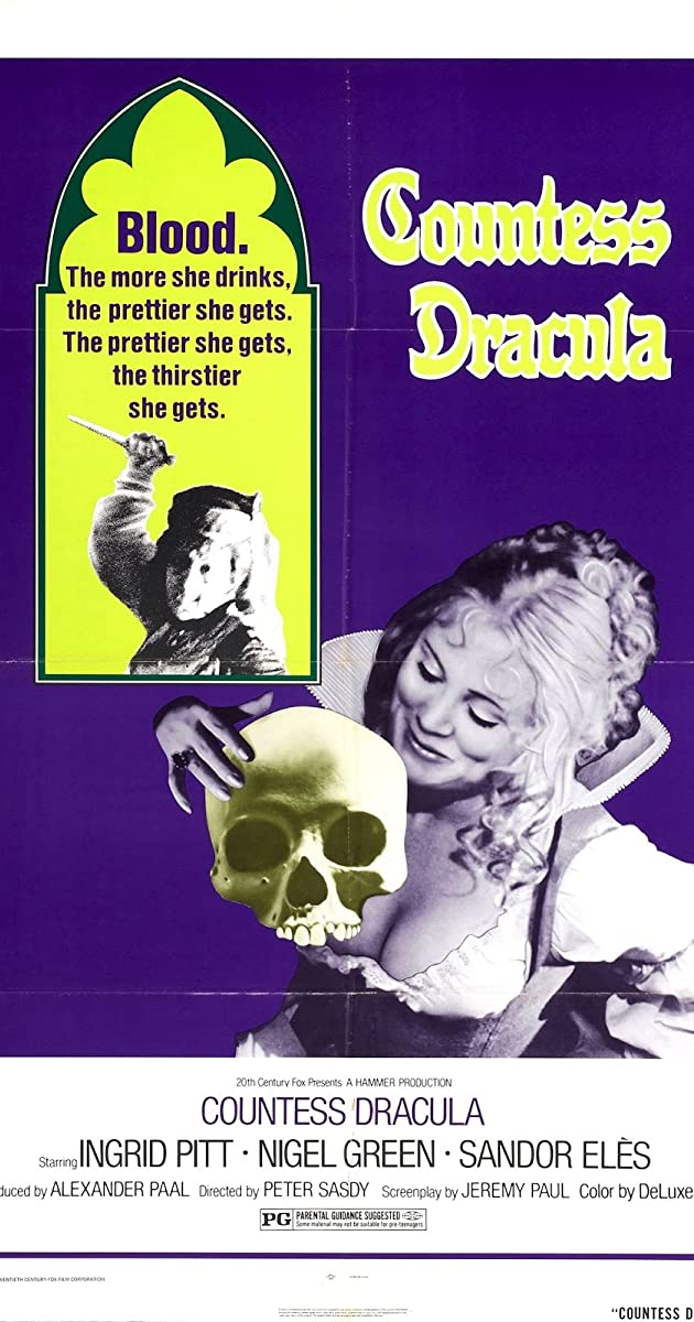 Subtitle of Countess Dracula
