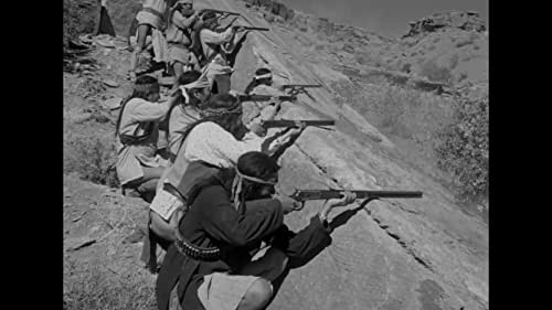 A cavalry officer posted on the Rio Grande is confronted with murderous raiding Apaches, a son who's a risk-taking recruit and his wife from whom he has been separated for many years.