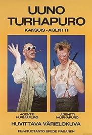 Uuno Turhapuro - kaksoisagentti Poster