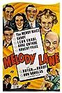 Melody Lane (1941) Poster