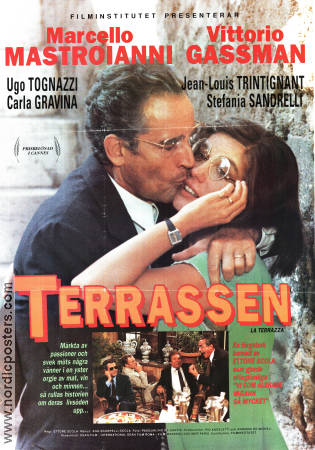 Stefania Sandrelli in La terrazza (1980)