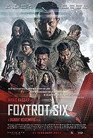 Julie Estelle, Oka Antara, Verdi Solaiman, Arifin Putra, Rio Dewanto, Mike Lewis, and Chicco Jerikho in Foxtrot Six (2019)