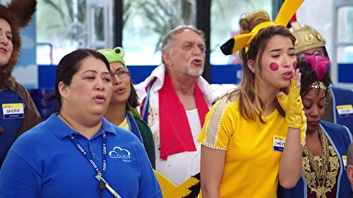 Superstore: Dina And Glenn Prep The Employees For Halloween In The Store