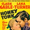 Clark Gable and Lana Turner in Honky Tonk (1941)