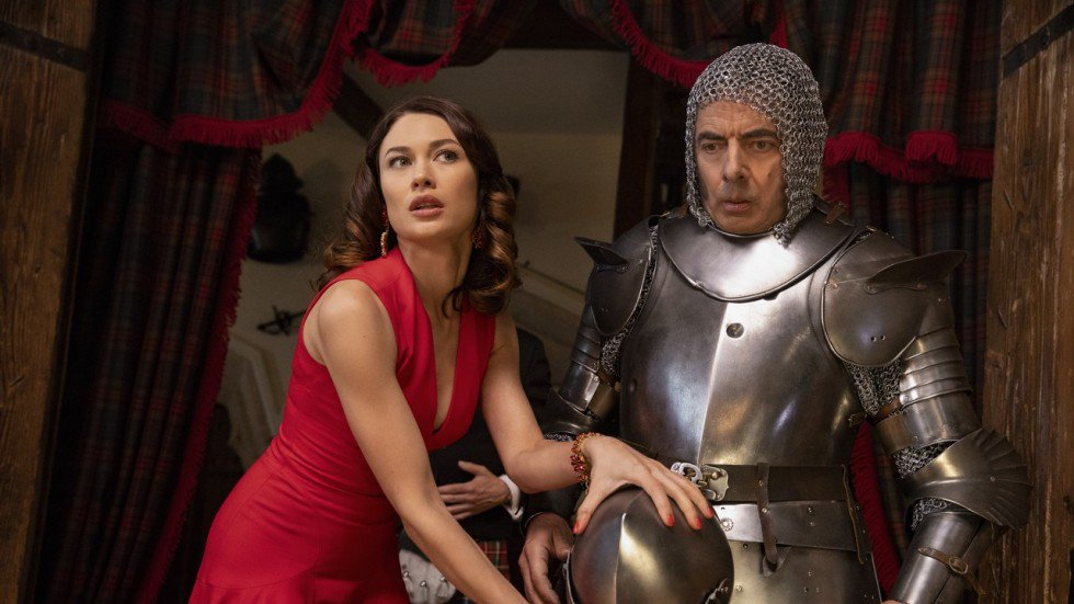 Image result for johnny english strikes again olga kurylenko