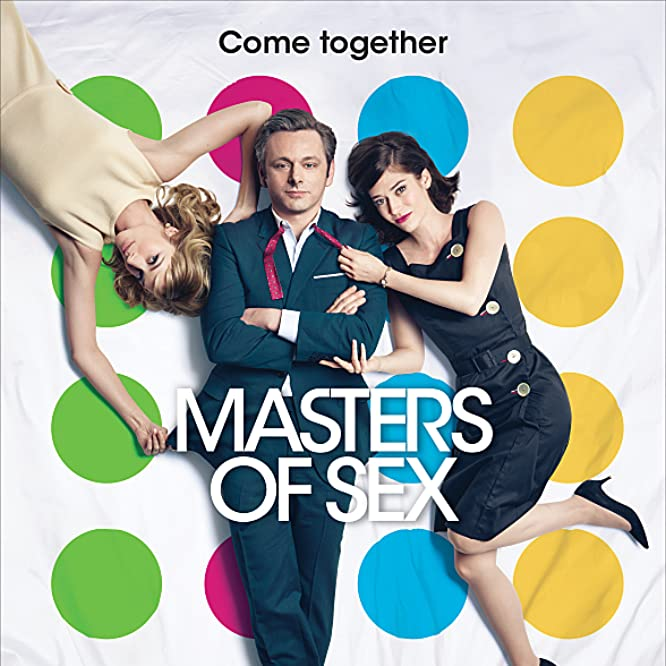 Lizzy Caplan, Michael Sheen, and Caitlin FitzGerald in Masters of Sex (2013)