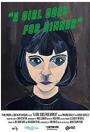 A Girl Goes for Dinner Poster