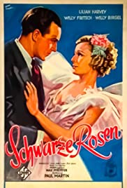 Schwarze Rosen Poster