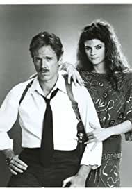 Kirstie Alley and Nicolas Surovy in Stark: Mirror Image (1986)