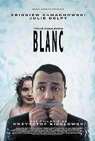 Julie Delpy and Zbigniew Zamachowski in Trois couleurs: Blanc (1994)