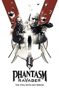 A. Michael Baldwin, Reggie Bannister, and Angus Scrimm in Phantasm: Ravager (2016)