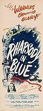 Rhapsody in Blue (1945) Poster