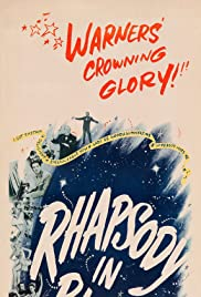 Rhapsody in Blue(1945) Poster - Movie Forum, Cast, Reviews