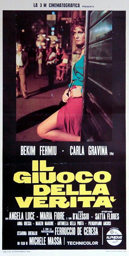 Carla Gravina in Il gioco della verità (1974)