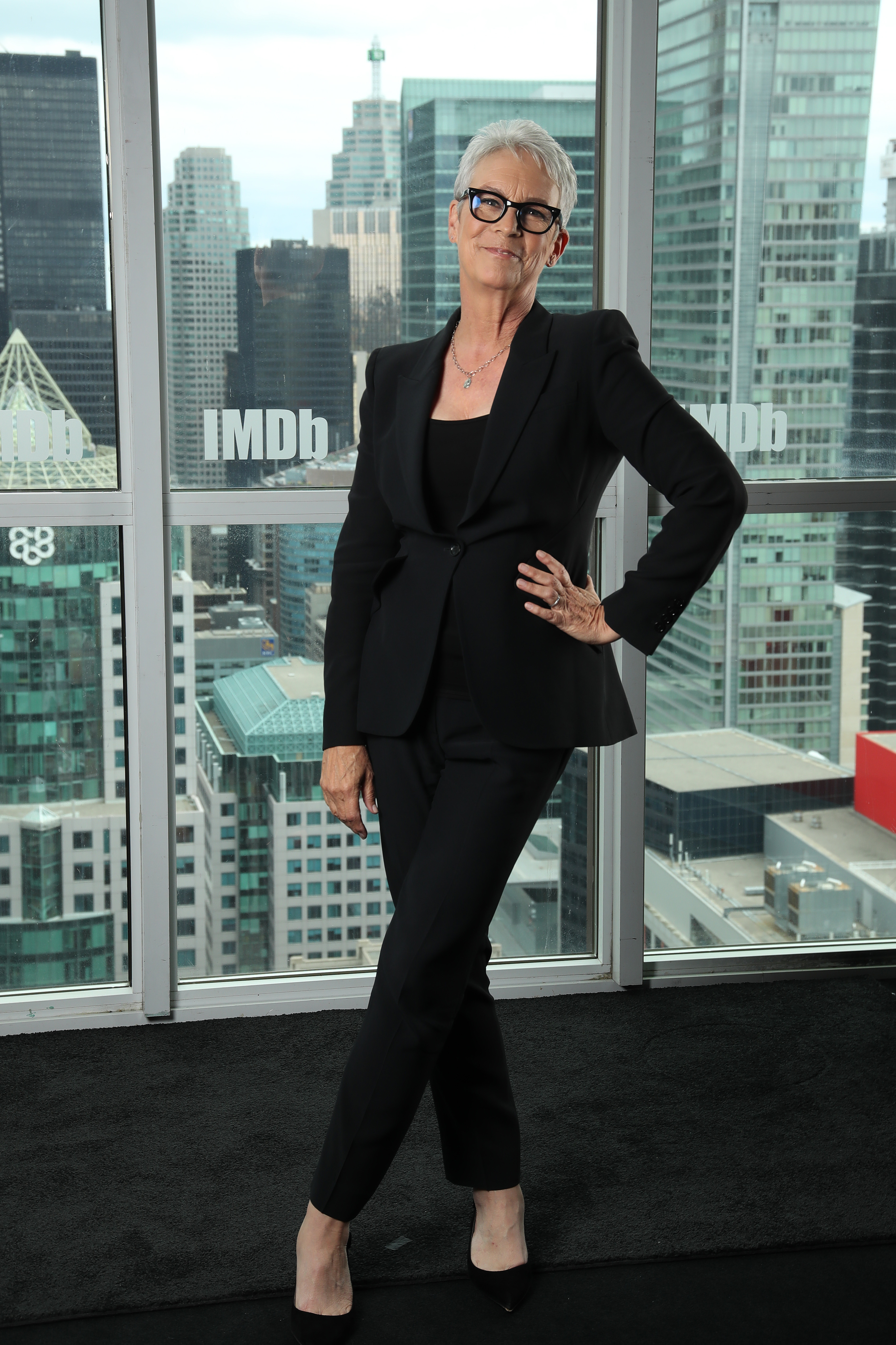 Jamie Lee Curtis at an event for Knives Out (2019)