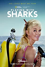 Valerie Taylor in Playing with Sharks: The Valerie Taylor Story (2021)