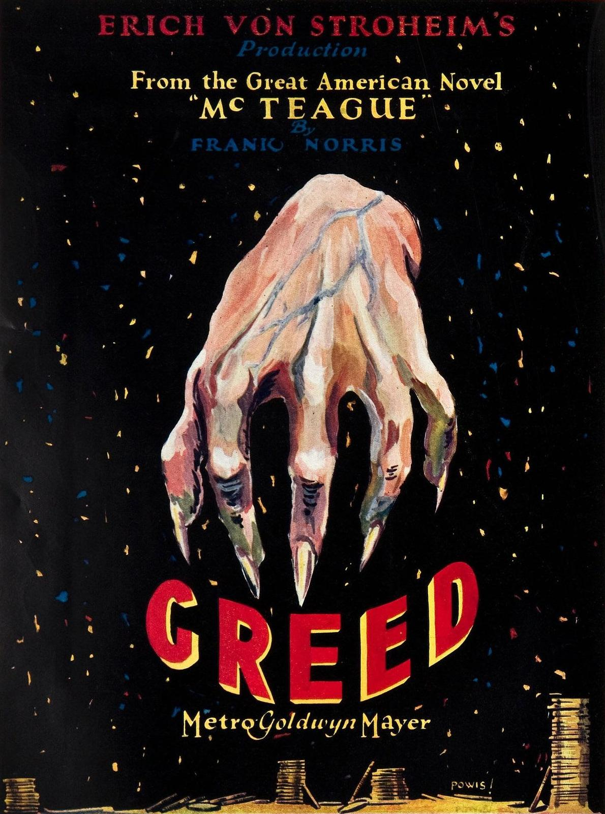 Image result for greed (1924)