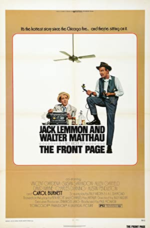 The Front Page Poster Image