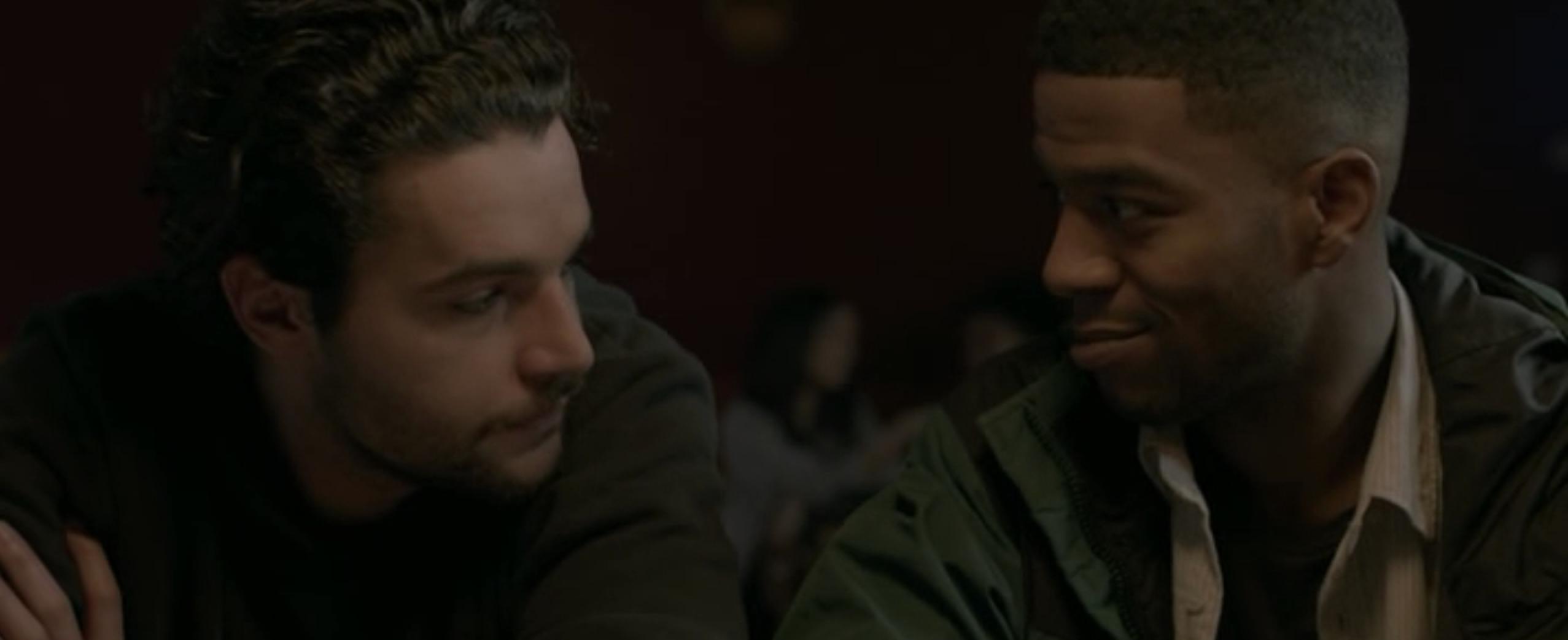 Chris Abbot and Scott Mescudi in 'James White'