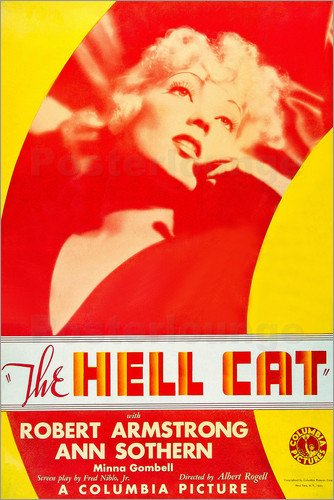 Ann Sothern in The Hell Cat (1934)