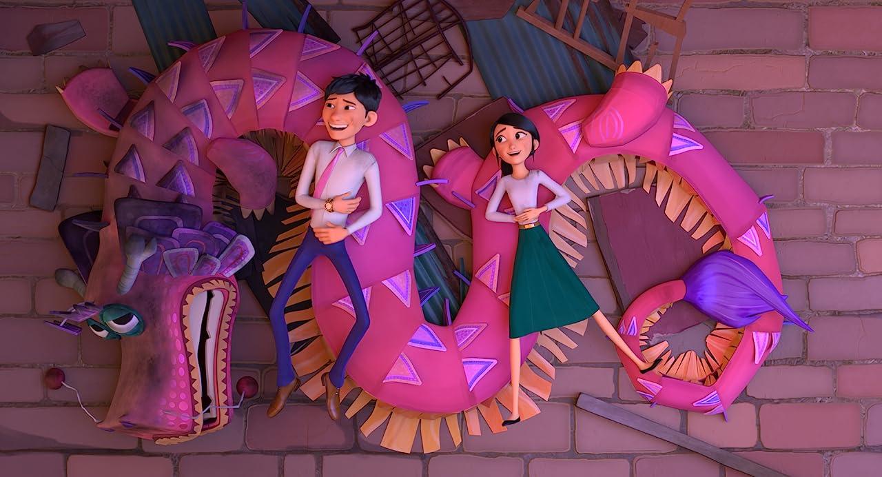 دانلود انیمیشن آرزو اژدها wish dragon 2020 با دوبله فارسی,