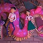 John Cho, Jimmy Wong, and Natasha Liu Bordizzo in Wish Dragon (2021)